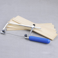 1 set Multifunction Adjustable Hand Saw With 8pcs Spiral Blades Jig Saw Fast Cutting Scroll Coping Woodworking Tools