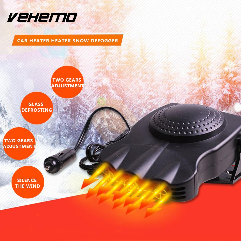 Vehemo 12v 150w Winter Heater Fan Portable Automobile Demister Warmer Electric Car