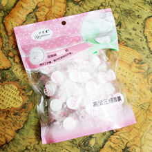 Compressed Disposable Women Beauty DIY Facial Masks Paper