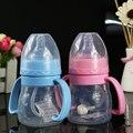 Newborn Baby bottle silicon milk bottle High Temperature Resistance Food Grade Silicone Bottle Wide aperture bottle 150ml NEW