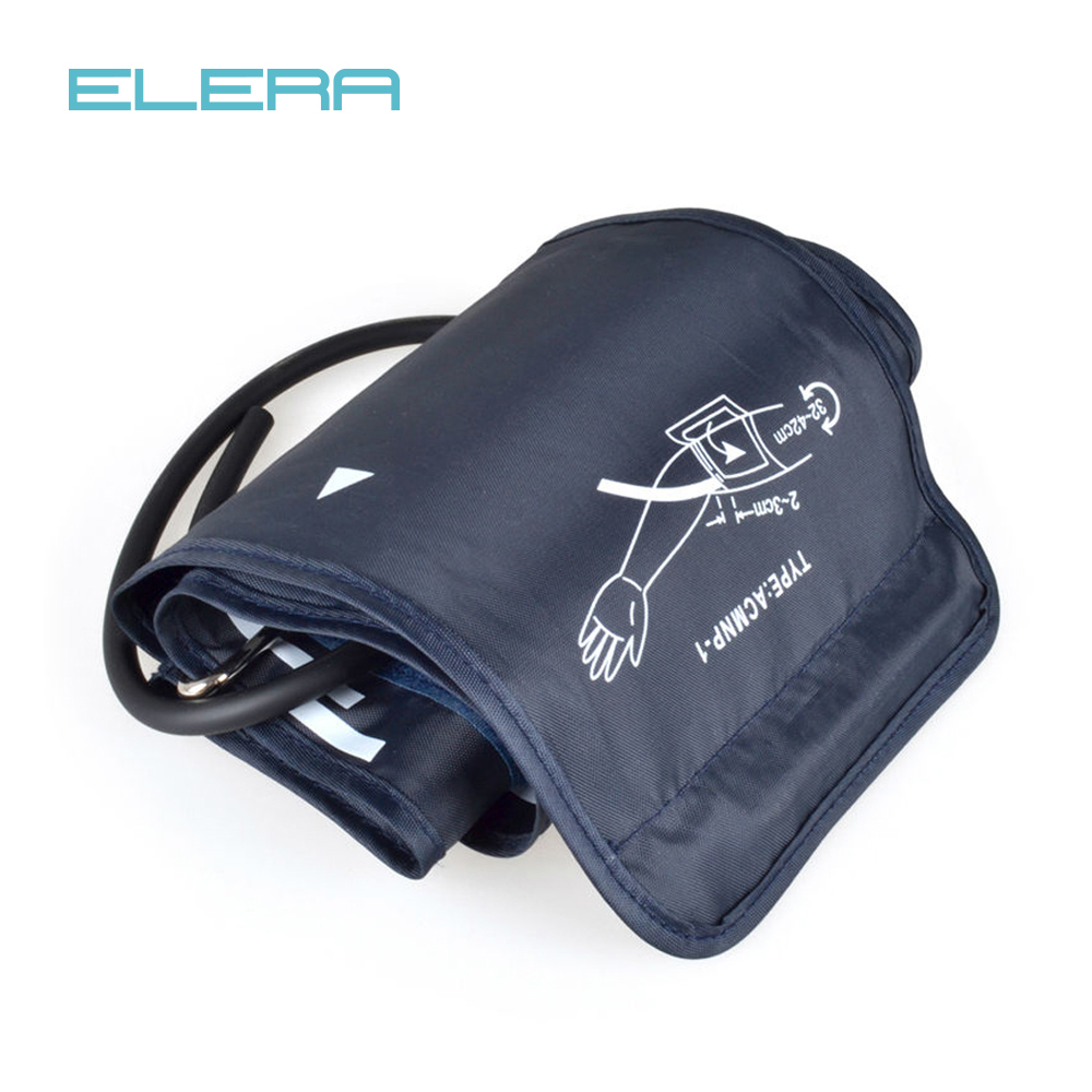 1 piece 22-32CM Portable Arm Digital Blood Pressure Monitor Cuff Single tube Tonometer Cuff For Sphygmomanometer BP meter