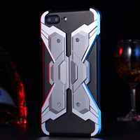 Full Heavy Duty Protective Case For IPhone 7 Plus Case Luxury Hybrid Screws Combination Metal Bumper