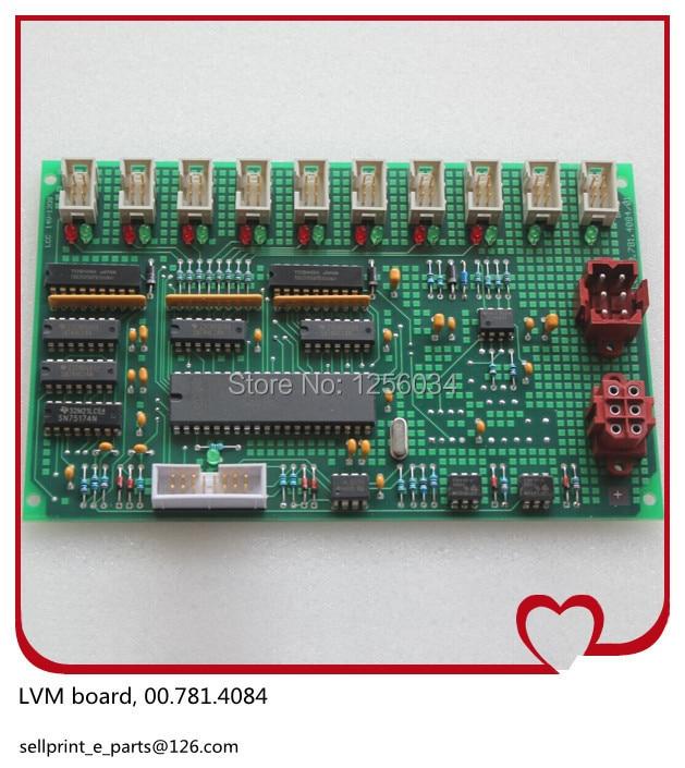 1 piece FREE SHIPPING heidelberg board LVM-2 board, printing LVM board 00.781.4084 C2.102.2111, C2.102.2111/02