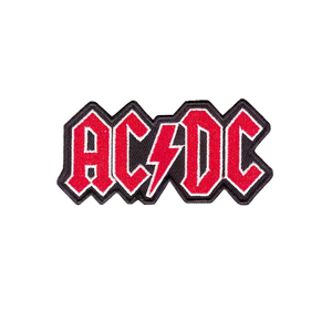 Новинка, Логотип AC & DC, жесткий металлический рок-музыкальный ремешок, пришитый Железный вышитый пластырь, подходит для всех видов одежды