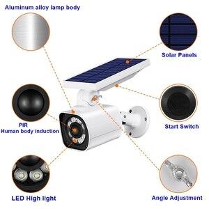 Image 5 - Luces farola Solar Led con Sensor de movimiento PIR para exteriores, impermeables, Ip66, control preventivo, antirrobo, Lámparas de jardín Solar, novedad