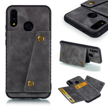 Wallet Case for Huawei P20 Lite Case PU Leather Multi-card Phone Cases For Huawei P20 Lite/ Nova 3e Cover for huawei p20 lite usb plug charger board microphone module cable connector for huawei nova 3e digitizer phone parts repair kit