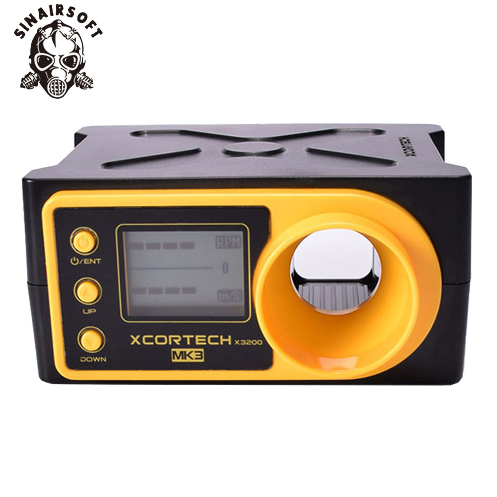 SINAIRSOFT Tactical X3200 XCORTECH MK3 Ball Bullet Shooting Chronograph Speed Tester High-tech Airsoft Paintball Combat Game
