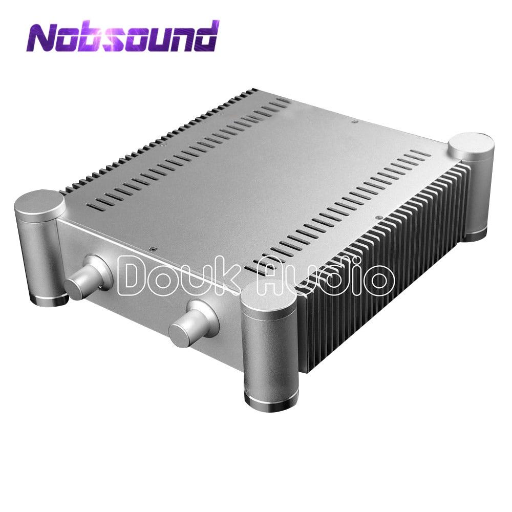 Nobsound Circular Bead White Aluminum Enclosure DIY Chassis HiFi Amplifier BoxNobsound Circular Bead White Aluminum Enclosure DIY Chassis HiFi Amplifier Box