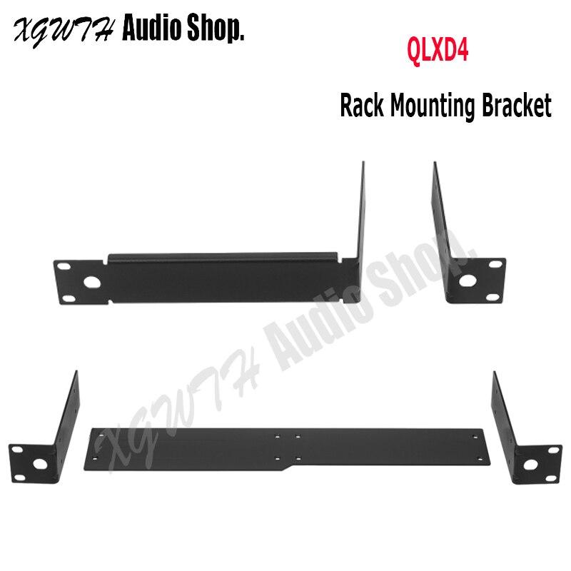 Metal Raf Montaj Anten Uzatma Kablosu Braketi Raf Kitleri Shure QLXD QLXD4 Kablosuz Mikrofon Sistemi Kablosuz Alıcı|Mikrofon Aksesuarları|   -
