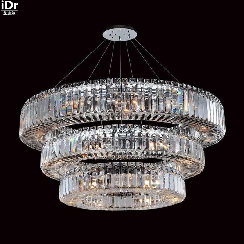 Luxury Gold Chandeliers Lights Antique Lamp Lighting Lobby