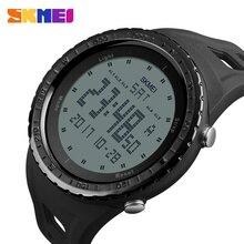 군사 시계 남자 패션 스포츠 시계 SKMEI 브랜드 LED 디지털 50M 방수 수영 복장 스포츠 야외 손목 시계