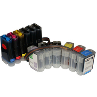 Full ink replacement For HP 72 CISS with chip For HP designjet T610 T620 T790 T1100 T1120 T1200 T770 Ink Supply System