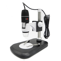 HD 500X Portable USB Digital Microscope 8 LED 2MP Black Practic Electronic Microscope Endoscope Magnifier Camera