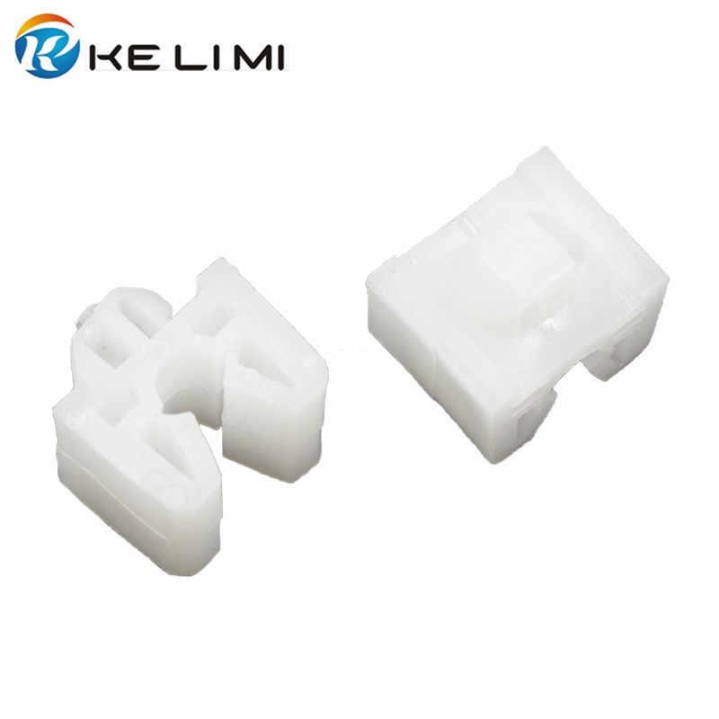 KELIMI автомобильный зажим для сиденья белый пластик фиксированный авто крепеж для JAC Авто зажимы 100 шт. Бесплатная доставка