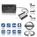 Para Nissan Almera \ MaximaTeana \ Infiniti FX \ EX Bluetooth A2DP Música Cobrando Adaptador para Carro MP3 USB AUX Handsfree Kit