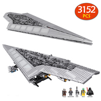 Large 3152pcs Bricks Set Legoingly 10221 Toys Blocks Star Execytor Super Star Destroyer Model Building Bricks toys for Kids Gift