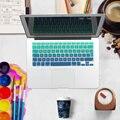 Rainbow color peru silicone tampa do teclado protetor adesivos para macbook air pro 13 15 17 turco teclado retina pele