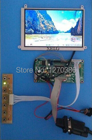 Free Shipping!!! 5.6-inch high-definition LCD module (LTD056EV7F LCD screen and driver board) 10pcs free shipping r2a15120fa r2a15120fp r2a15120 lcd driver board ic chip 100