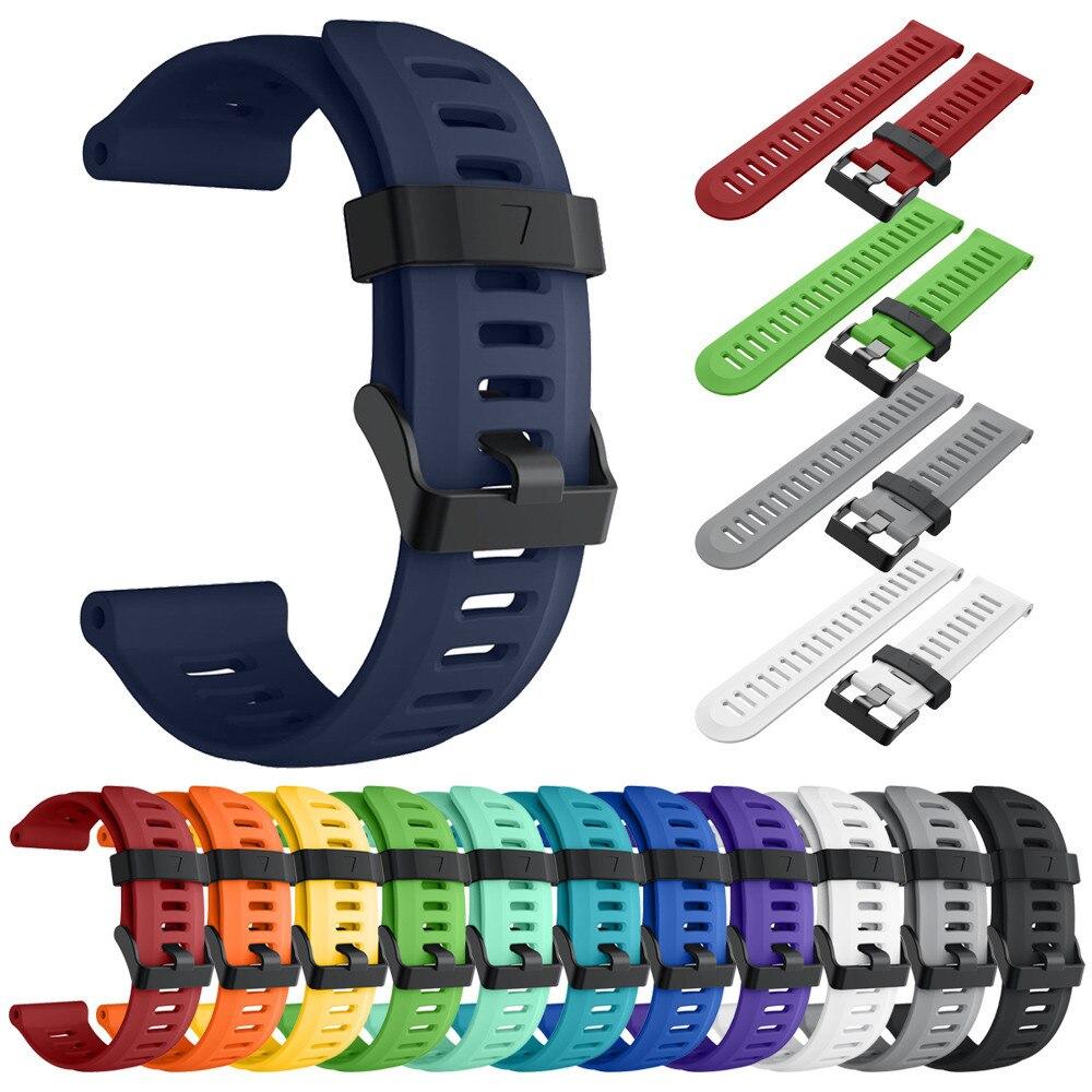 Watch Strap WaterProof Soft Silicone Strap Replacement Watch Band For Garmin Fenix 5X Plus Watch Smart watch Accessories 2019