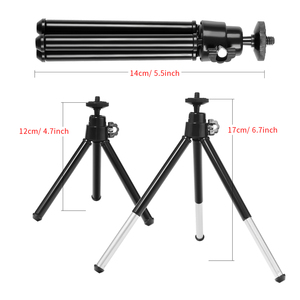 Image 4 - 6inch Mini LED Desktop Video Ring Light Selfie Lamp With Tripod Stand USB Plug For YouTube Live Photo Photography Studio