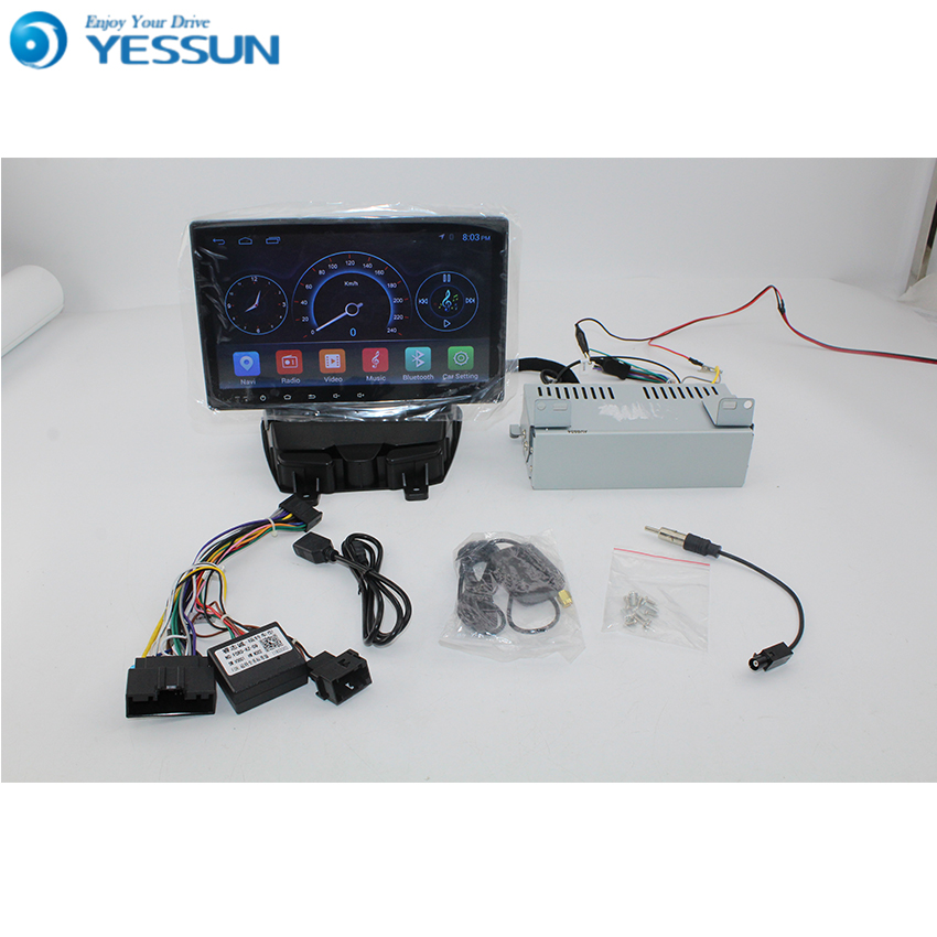 YESSUN Android Radio Car Player For Ford transit 2007~2018 stereo radio multimedia GPS navigation without DVD CD