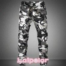 2018 New Joggers Men Hot Sale Casual Camouflage Pants Men Quality 100% Cotton Elastic Comfortable Trousers Men Plus Size M-3XL bvp hot sale men 100