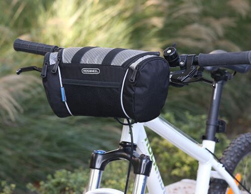 Roswheel Bicycle Handlebar Bags Waterproof Mtb Mountain Bikes Cycling Front Bar Bag Basket 32 11 17cm In Panniers From Sports