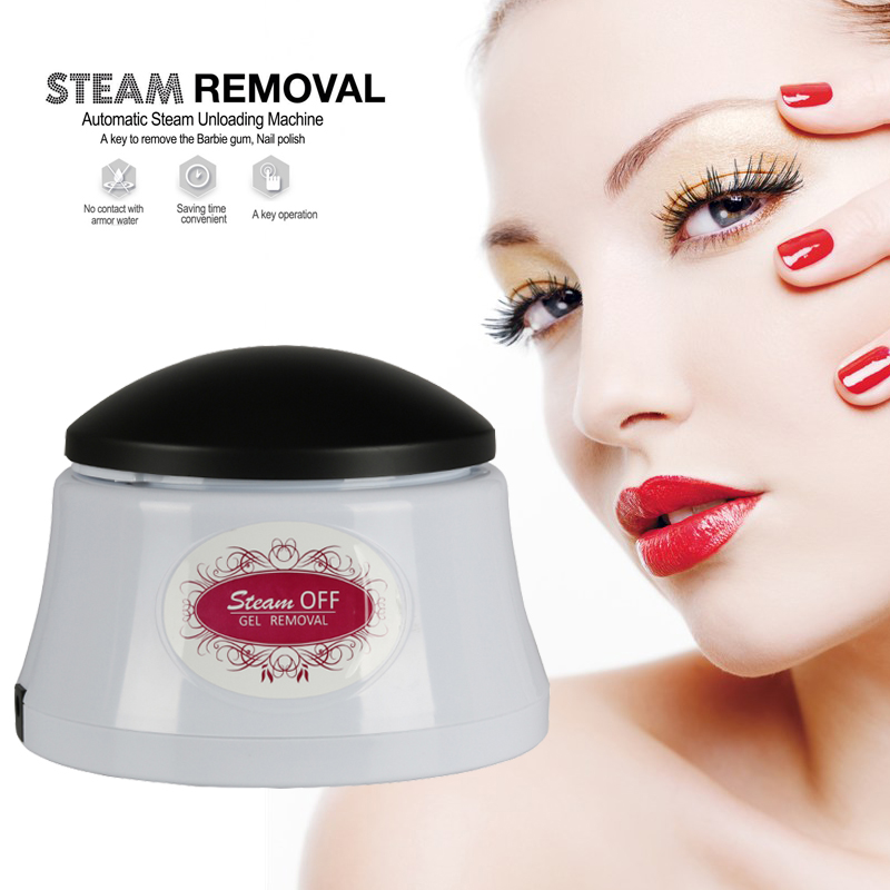 Nail Polish Remover&FREE SHIPPING Equipment Nail Art Tools UV Gel Polish Soak-off Remover Nail Steamer Removal for Nails 2018 new professional electric nail gel polish remover steam off uv gel polish removal machine nail steamer for home nail salon