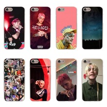 hot POP rapper Lil Peep High quality clear Soft silicone Phone Cases cover for iPhone 6 6s 7 8 Plus 5s se X