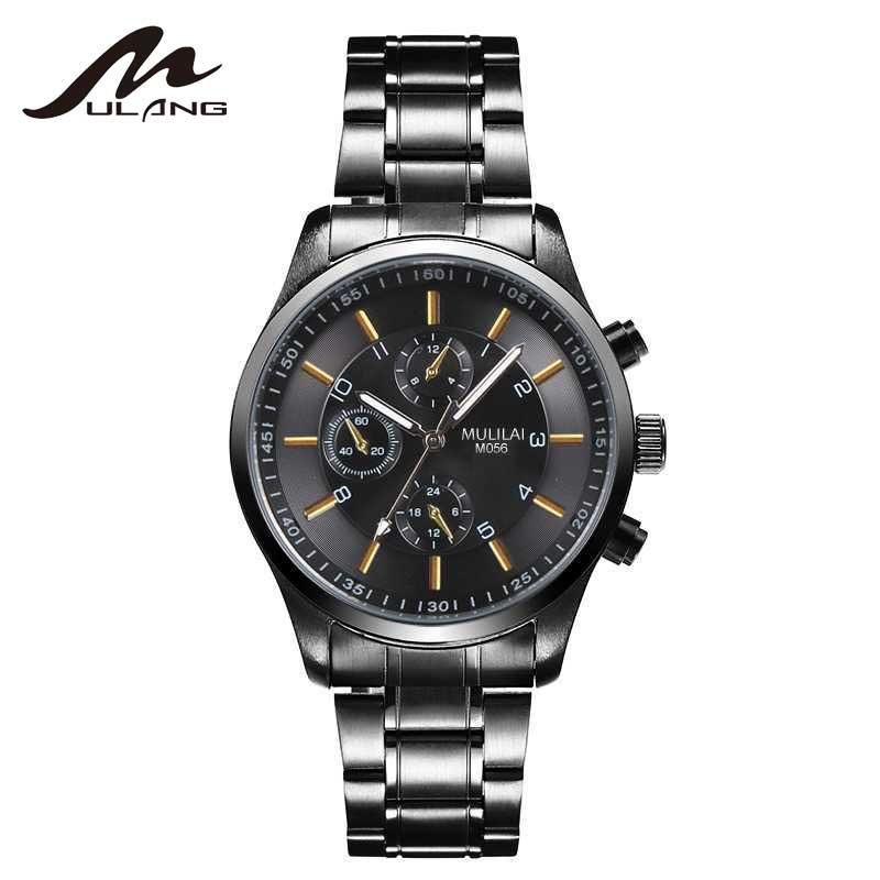 MULILAI meeste käekellad kuulsad brändi kellad mehed luksuslik - Meeste käekellad