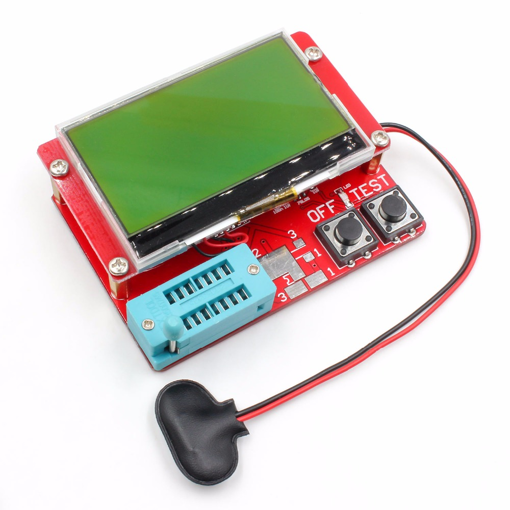 2015 ESR-T4 Mega328 Cyfrowy tester tranzystorów Dioda Pojemność - Przyrządy pomiarowe - Zdjęcie 3