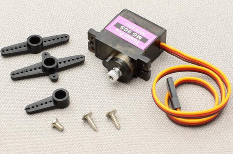 10PCS  MG90S Metal Geared Tower Pro Micro Servo 360 Degree Continuous Rotation Servo for Fixed wing, Helicopter KT, Small Robot mg995 tower pro servo