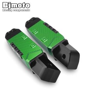 Image 3 - 2 قطعة دراجة نارية الخلفي الركاب القدم الدواسات مسند القدمين أوتاد القدم لكاواساكي Z900 RS Z650 Z750 Z800 Z1000 SX Versys650 Ninja650