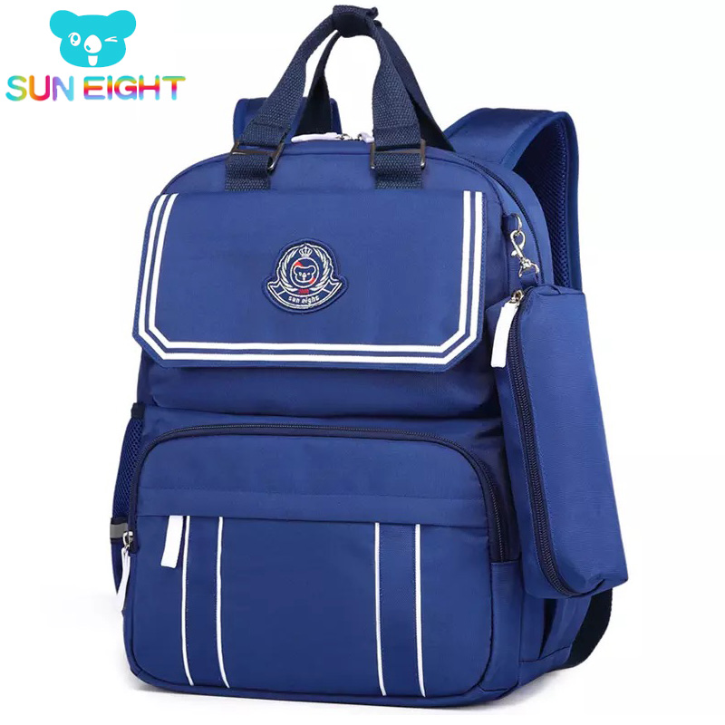 EIGHT, Back, Student, SUN, Navy, Bags