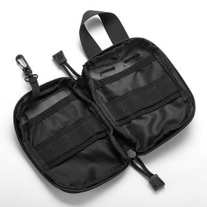 Image 4 - Açık ilk yardım acil çanta ilaç hap kutusu ev araba hayatta kalma kiti Emerge kılıf küçük 900D naylon kese