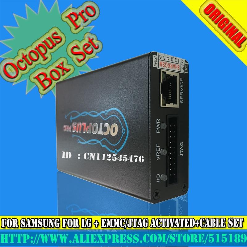 US $304 2 |Octoplus Box Set Lengkap untuk Samsung Untuk LG gsmjustoncct +  Medusa JTAG Aktivasi (Paket + 19 kabel set) ditambahkan untuk sam N900A &