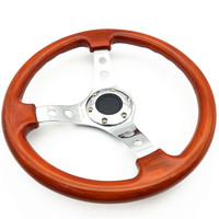Red Car steering wheel Plating recess ABS universal racing sport steering wheel for pathfinder r51 for golf r32 for vw jetta