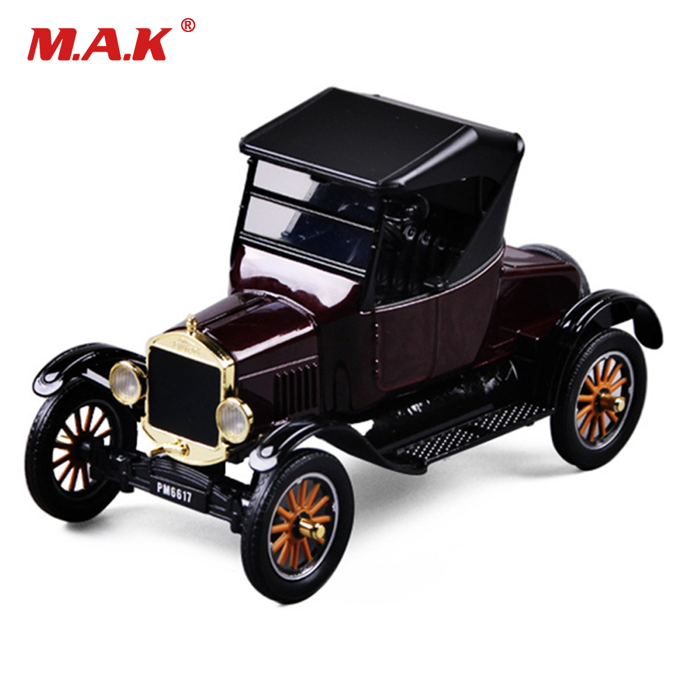 Kids toys 1:24 diecast Car model Retro Classic Antique car toy 1/24 Alloy Model Car Boys Gift Car Toys for Collection zxz 8 type amazing marine organism animals model toy classic plastic whale shark dolphin sea lions toys for boys collection gift