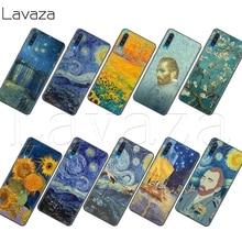 Lavaza Thin Van Gogh Starry Night Soft Case for Samsung Note A3 A5 A6 A7 A8 A9 A10s A20s A30s A40s A50s 10 A70 8 9 J6 Plus