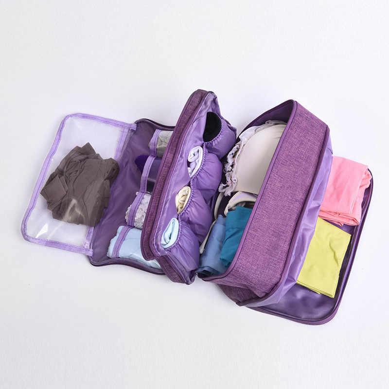 1 قطعة البرازيلي حقيبة المحمولة للماء الموجبة سعة كبيرة الملابس الداخلية حقيبة التخزين السفر فرز حقيبة تخزين المنزل منظم