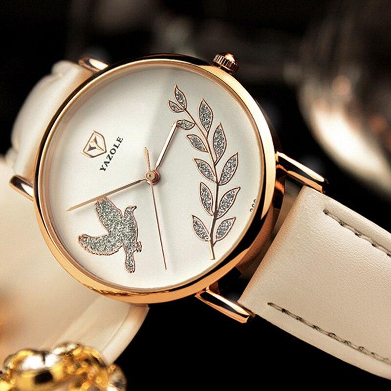 2016 Wrist Watch Women Ladies Brand Famous Female Wristwatch Clock Quartz Watch Girls Quartz-watch Montre Femme Relogio Feminino