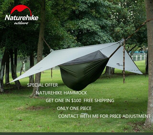 Naturehike Outdoor Travel Hammock Tent 20D Siliconed Nylon 1 Person  Waterproof Tent Lightweight U0026 Portable Three Season Tent