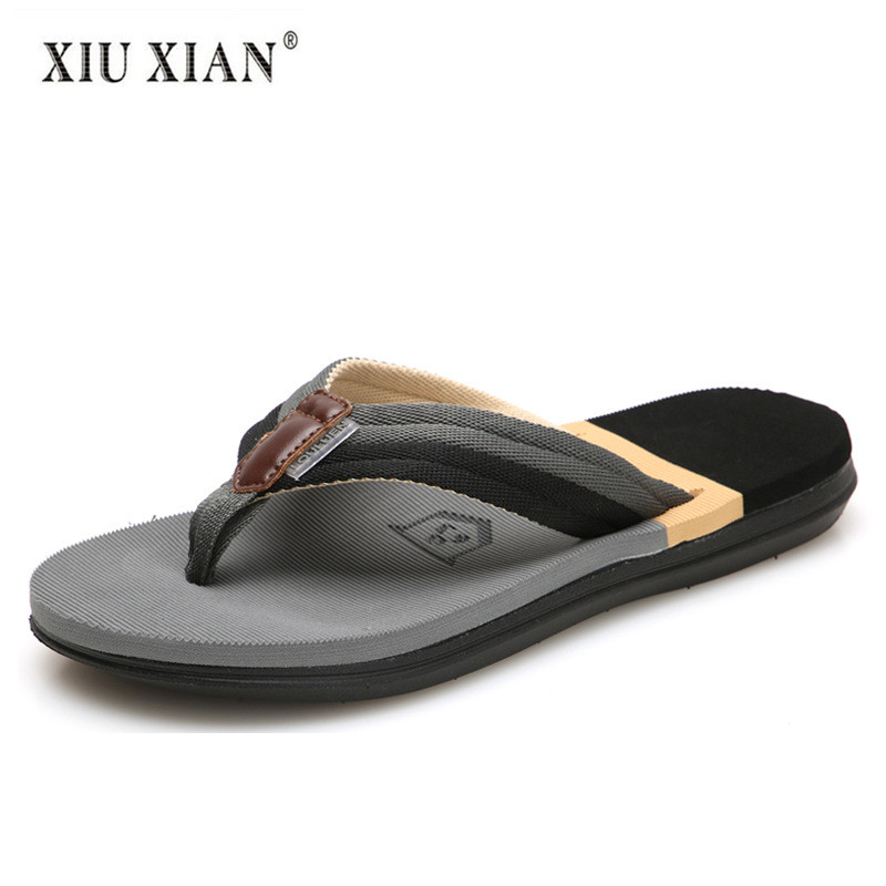 2018 Summer New Arrived Fashion Lovers Travel Beach Slippers Thick Sole Non Slip Comfort Men Flip Flops Waterproof Home Slippers