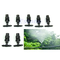 5pc Greenhouse Flower Plant Garden Misting Atomizing Sprinkler Nozzles Tee