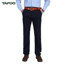 TAPOO Hohe Qualität männer Casual Hosen 100% Baumwolle Camouflage Entspannt Herrenhosen Mit Herbst Winter Cargo-Casual Hosen 29-40