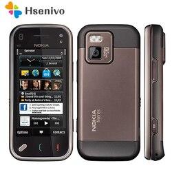N97 мини 100% Оригинал Nokia N97 мини мобильный телефон разблокирован 3G WIfi GPS 8 Гб памяти Symbian смартфон Белый отремонтированный