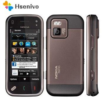 Перейти на Алиэкспресс и купить N97 мини 100% Оригинал Nokia N97 мини мобильный телефон разблокирован 3G WIfi GPS 8 Гб Память смартфон с Symbian Белый восстановленный
