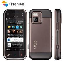 N97 mini 100% D'origine Nokia N97 Mini Mobile Téléphone Débloqué 3G WIfi GPS 8 GB de stockage Symbian Smartphone Blanc et un ans de garantie