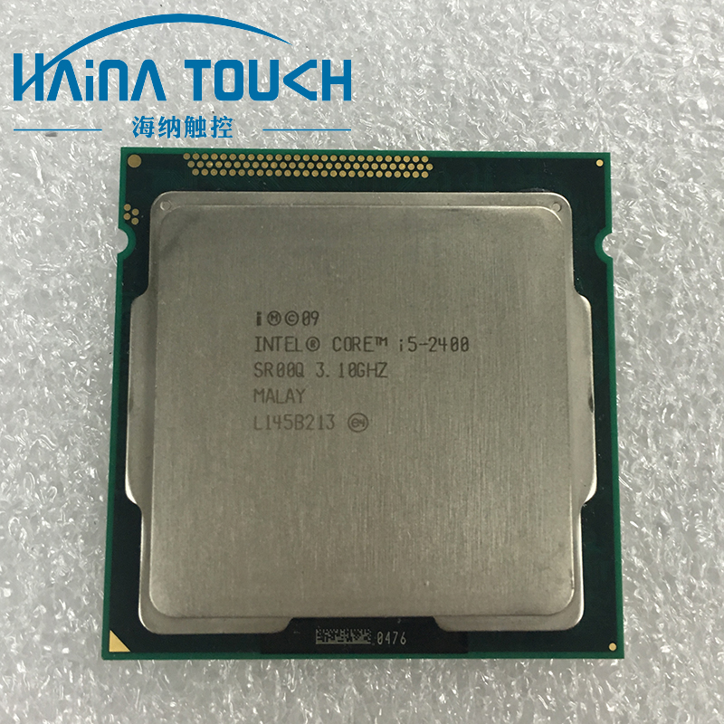 100% Original Intel Core i5 2400 Quad Core Processor 3.1GHz 6M Socket 1155 100% Working