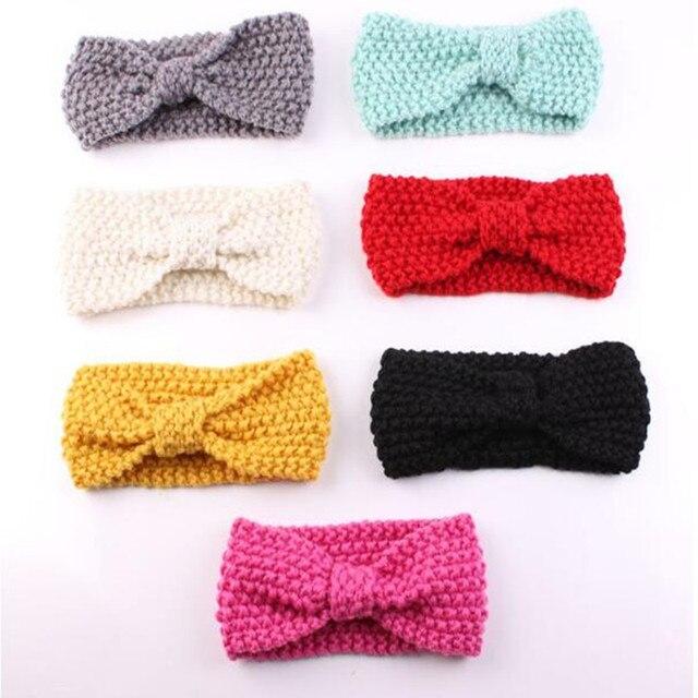 Baby Shower Gift Newborn Baby Girl Headband Crochet Toddler Head